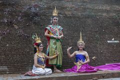 CHIANG MAI THAILAND - FEBRUARI 01, 2014 Royaltyfri Foto