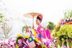 CHIANG MAI, THAILAND - Februari 2.2013   Stock Afbeeldingen