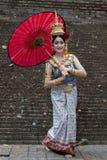 CHIANG MAI THAILAND - FEBRUARI 01, 2014: Thailändskt Arkivbilder