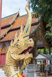 Chiang Mai, Thailand - 13 februari 2015: Wat Chai Sri Phum beroemd Royalty-vrije Stock Foto