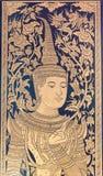Chiang Mai, Thailand - 24 februari 2015: Wat Chang Taem een beroemde Te Royalty-vrije Stock Fotografie