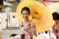 CHIANG MAI, THAILAND-FEBUARY 7: Foto de archivo libre de regalías