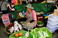 Chiang Mai, Thailand: Food Vendor at Market Royalty Free Stock Photography