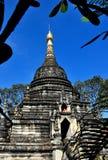 Chiang Mai, Thailand: Great Wat Pa Pao Chedi Stock Image