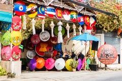 CHIANG MAI, THAILAND 19. JANUAR: 31. Jahrestag Bosang-Regenschirm Lizenzfreies Stockfoto