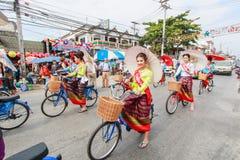 CHIANG MAI, THAILAND-JANUARY 19 : 31th anniversary Bosang umbrella Stock Photo