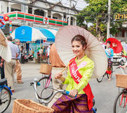 CHIANG MAI, THAILAND-JANUARY 19 : 31th anniversary Bosang umbrella Stock Photos