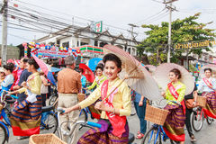 CHIANG MAI, THAILAND-JANUARY 19 : 31th anniversary Bosang umbrella Stock Photo