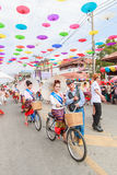 CHIANG MAI, THAILAND-JANUARY 19 : 31th anniversary Bosang umbrella Stock Image