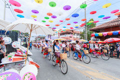 CHIANG MAI, THAILAND-JANUARY 19 : 31th anniversary Bosang umbrella Royalty Free Stock Photo