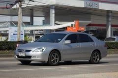 Private car Honda accord. CHIANG MAI, THAILAND -JANUARY 9 2018:  Private car Honda accord. On road no.1001 8 km from Chiangmai Business Area Stock Image