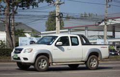 Private Pick up, Mazda BT50. Royalty Free Stock Photo