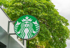 Chiang Mai, THAILAND - July 15, 2016: Starbucks Coffee. Starbuck Royalty Free Stock Image