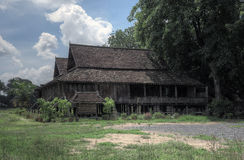 Chiang Mai, Thailand, 7 June 2014 - 140 years old ancient house reconstructed Royalty Free Stock Photos