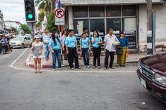 CHIANG MAI THAILAND - JUNI 09 Arkivfoton