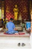 Chiang Mai Thailand - Juni 10, 2016: Arkivbild