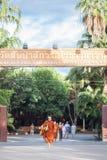Chiang Mai THAILAND - Juni 10: Kulturen av Thailand Philant Arkivfoton