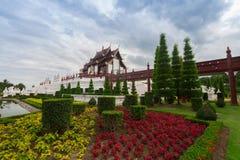 Chiang Mai, Thailand in Koninklijke Flora Ratchaphruek Park royalty-vrije stock afbeeldingen