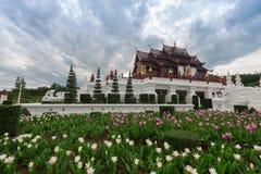 Chiang Mai, Thailand in Koninklijke Flora Ratchaphruek Park stock foto's