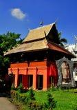 Chiang Mai, Thailand: Library at Wat Sri Suphan Royalty Free Stock Image