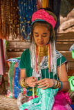Chiang Mai, Thailand Long-necked tribe village Royalty Free Stock Image