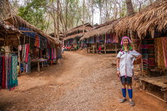 Chiang Mai, Thailand Long-necked tribe village Stock Photography