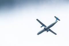 Chiang Mai Thailand - 28 mai : ATR72-500 de Kan Airlines atterrissage Image libre de droits