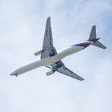 Chiang Mai Thailand - 28 mai : Boeing 777-2D7 de thaiairwaysThail Image stock
