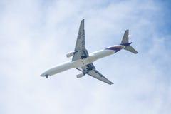 Chiang Mai Thailand - 28 mai : Boeing 777-2D7 de thaiairwaysThail Images stock