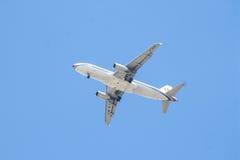 Chiang Mai Thailand - 17 mai : Compagnies aériennes Débarquement à l'air de Chiangmai Image libre de droits