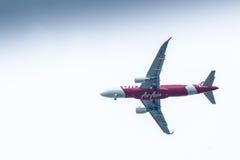 Chiang Mai Thailand - 28 mai : A330-300 d'AirAsiaThailand Landi Photographie stock libre de droits