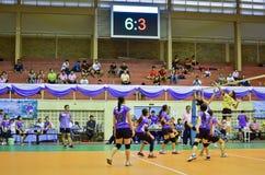 Chiang Mai, Thailand - 5. Mai: Das 33. Hochschulsport manageme Stockbild