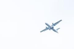 Chiang Mai Thailand - Maj 28: ATR72-500 av Kan Airlines landning Royaltyfria Foton