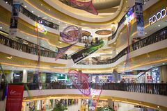Inside Central Festival Chiang mai. CHIANG MAI, THAILAND -MARCH 30 2018: Central Festival Chiang mai. New Business Plaza of Chiangmai. About 3 Km. from Stock Images