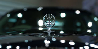 Chiang Mai, Thailand - March 28 - Logo MITSUOKA Car On Display I Royalty Free Stock Photography