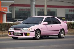 Private old car Nissan Sunny Stock Photos
