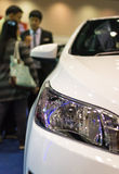 Chiang Mai, Thailand - March 28 - Salesman Presents New Car In N Stock Photo