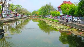The moat in Chiang Mai, Thailand