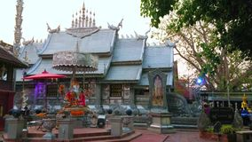 Exterior of Silver Temple, Chiang Mai, Thailand