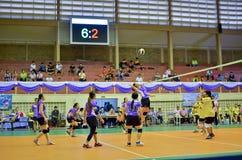 Chiang Mai, Thailand - MEI 5: De 33ste Universitaire sport manageme royalty-vrije stock fotografie