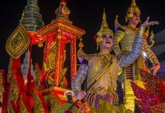 Chiang Mai Yee Peng festival. CHIANG MAI , THAILAND - NOV 04 : Participants in a parade during Yee Peng festival in Chiang Mai , Thailand on November 04 2017 Stock Photos