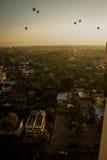 CHIANG MAI THAILAND - 26 NOV.: thaila van MAI van het ballonfestival chiang Stock Fotografie