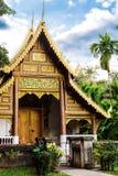 Chiang Mai, Thailand - November 28, 2016: Gouden Chedi Stock Fotografie