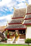Chiang Mai, Thailand - November 28, 2016: Gouden Chedi Royalty-vrije Stock Fotografie