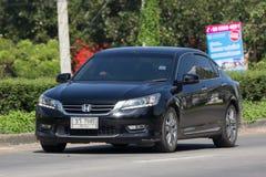 Private car Honda accord. CHIANG MAI, THAILAND -NOVEMBER  13 2017:  Private car Honda accord. On road no.1001 8 km from Chiangmai Business Area Stock Photography