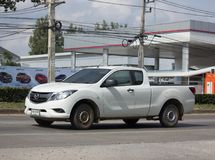 Private Pick up, Mazda BT50. Royalty Free Stock Photos
