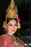 Loy Krathong festival i Chiang Mai Arkivbilder