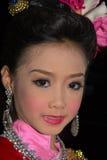 Loy Krathong festival i Chiang Mai Royaltyfria Bilder