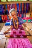 CHIANG MAI, THAILAND - NOVEMBER 18 : Unidentified tribalthai wom Royalty Free Stock Photography