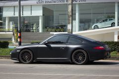 Private car, Porsche carrera 4s. Royalty Free Stock Image
